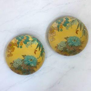 American Atelier Plate Set - Boho Floral Stoneware